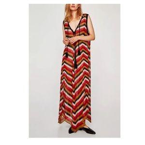 Zara knit maxi dress size s